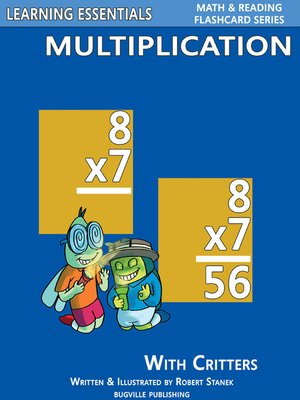 cover image of Multiplication Flashcards