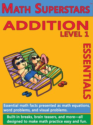 cover image of Math Superstars Addition Level 1