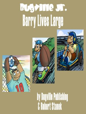 cover image of Barry Lives Large