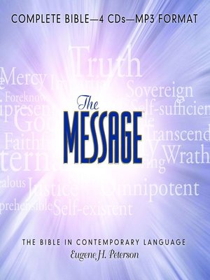 cover image of The Message Bible