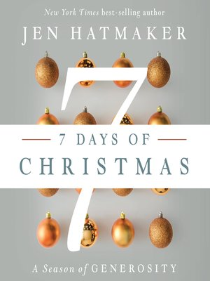 cover image of 7 Days of Christmas