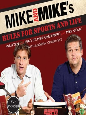 cover image of Mike and Mike's Rules for Sports and Life
