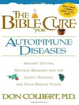 cover image of The Bible Cure for Autoimmune Diseases