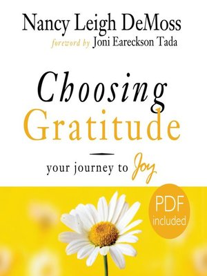 cover image of Choosing Gratitude
