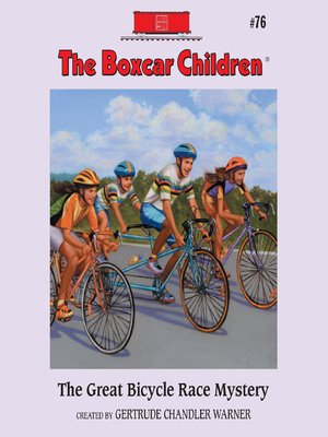 cover image of The Great Bicycle Race Mystery