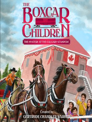 cover image of The Mystery at the Calgary Stampede