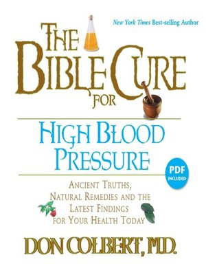 cover image of The Bible Cure for High Blood Pressure