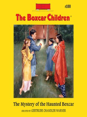 cover image of The Mystery of the Haunted Boxcar
