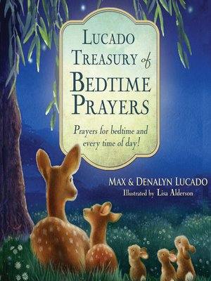cover image of Lucado Treasury of Bedtime Prayers