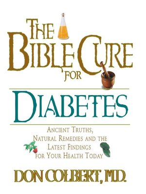 cover image of The Bible Cure for Diabetes