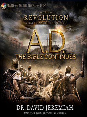 cover image of A.D. the Bible Continues