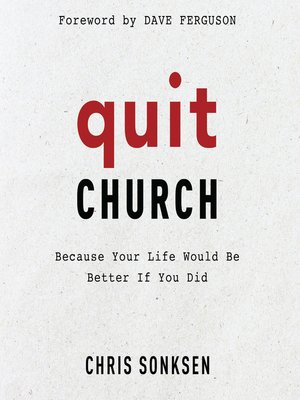 cover image of Quit Church