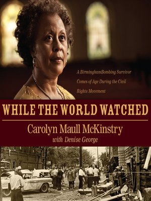 cover image of While the World Watched
