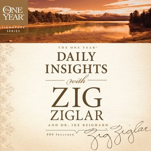 cover image of The One Year Daily Insights with Zig Ziglar