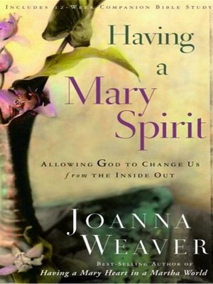 cover image of Having a Mary Spirit