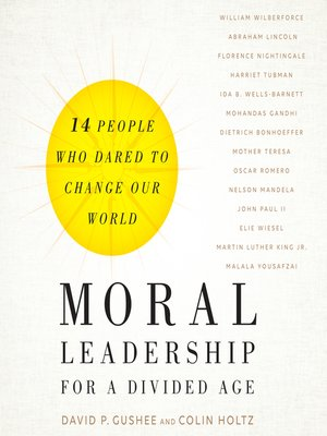 cover image of Moral Leadership for a Divided Age
