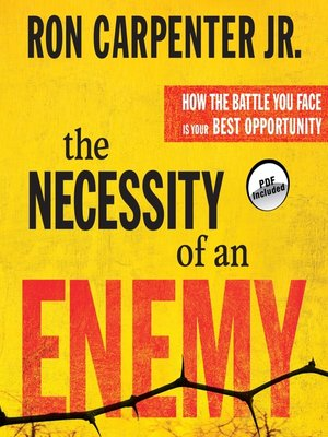 cover image of The Necessity of an Enemy