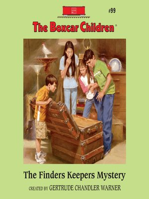 cover image of The Finders Keepers Mystery