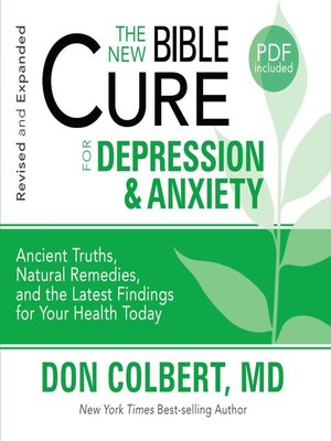 cover image of The New Bible Cure for Depression and Anxiety