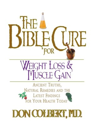 cover image of The Bible Cure for Weight Loss and Muscle Gain