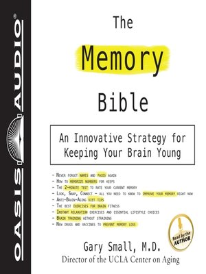 cover image of The Memory Bible