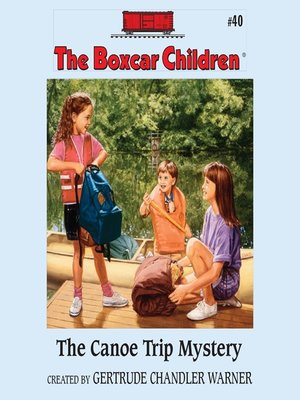 cover image of The Canoe Trip Mystery
