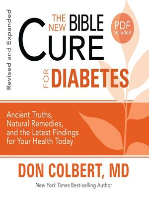 cover image of The New Bible Cure for Diabetes