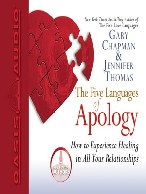 The Five Languages Of Apology By Gary Chapman  C2 B7 Overdrive Rakuten Overdrive Ebooks Audiobooks Ands For Li Ries