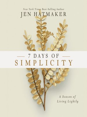 cover image of 7 Days of Simplicity