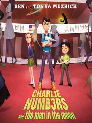 cover image of Charlie Numbers and the Man in the Moon