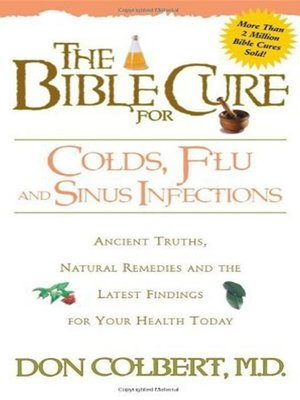 cover image of The Bible Cure for Colds, Flu, and Sinus Infections