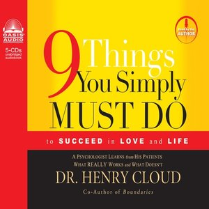 cover image of 9 Things You Simply Must Do