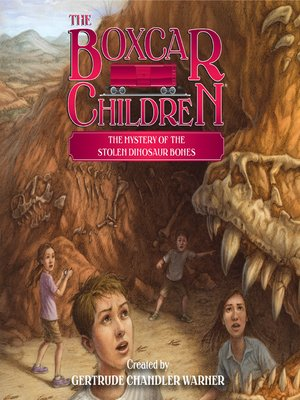 cover image of The Mystery of the Stolen Dinosaur Bones