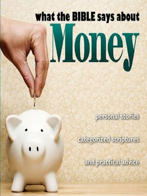 cover image of What the Bible Says About Money