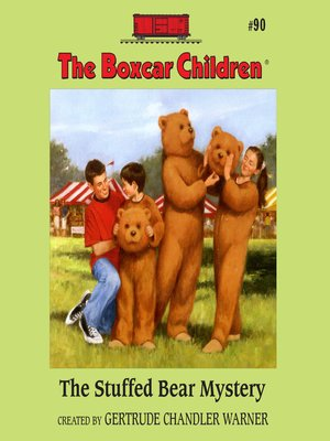cover image of The Stuffed Bear Mystery