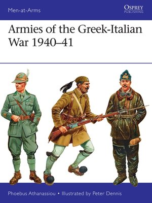 cover image of Armies of the Greek-Italian War 1940–41
