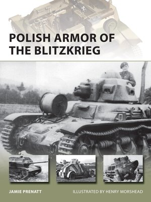 cover image of Polish Armor of the Blitzkrieg