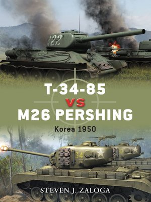 cover image of T-34-85 vs M26 Pershing