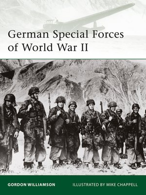 cover image of German Special Forces of World War II
