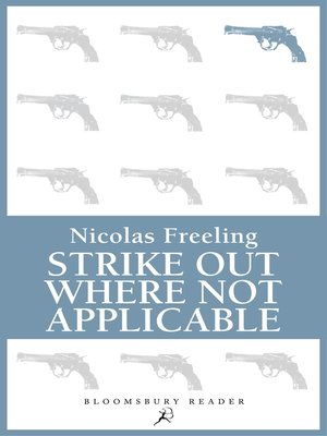 cover image of Strike Out Where Not Applicable