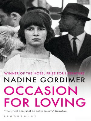 cover image of Occasion for Loving