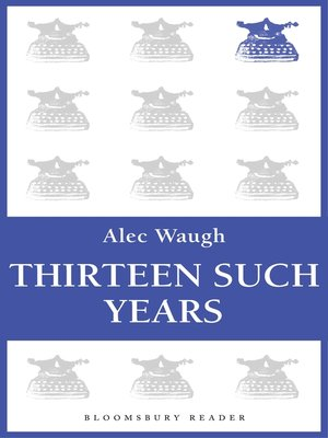 cover image of Thirteen Such Years