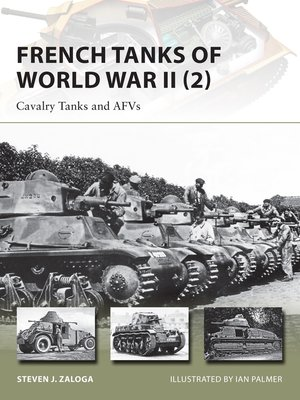 cover image of French Tanks of World War II (2)