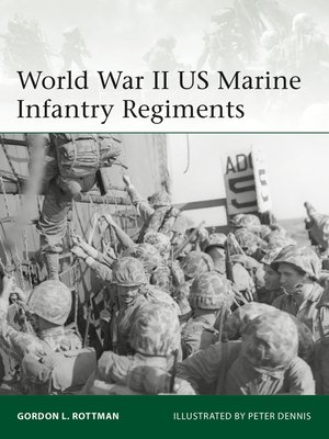 cover image of World War II US Marine Infantry Regiments