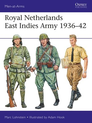 cover image of Royal Netherlands East Indies Army 1936–42