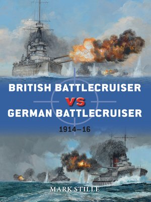 cover image of British Battlecruiser vs German Battlecruiser