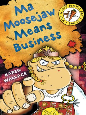 cover image of Ma Moosejaw Means Business
