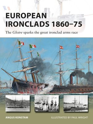 cover image of European Ironclads 1860–75