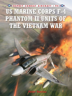 cover image of US Marine Corps F-4 Phantom II Units of the Vietnam War
