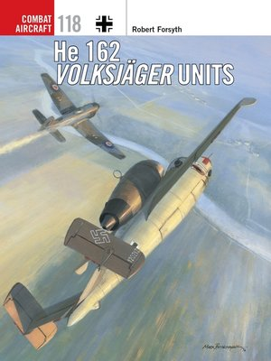 cover image of He 162 Volksjäger Units